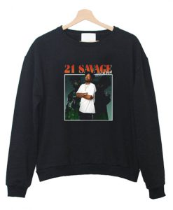 21 Savage Issa Album Sweatshirt