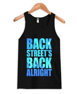 BACKSTREET'S BACK ALRIGHT Tank Top
