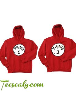 Best Thing 1 And 2 Hoodies
