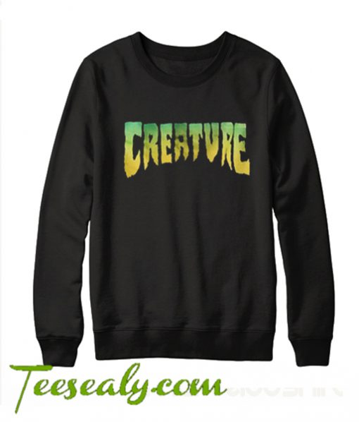 Creature Black Sweatshirt