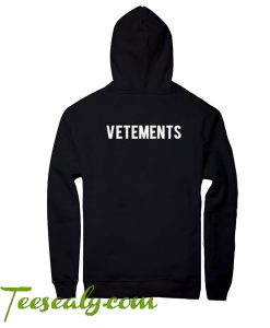 Vetements Hoodie back