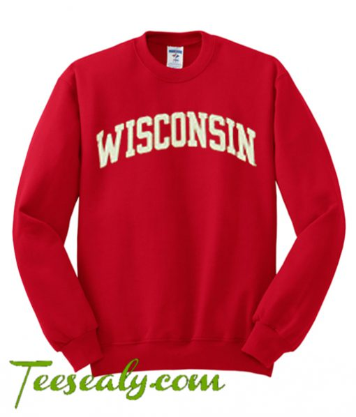 Wisconsin Red Sweatshirt