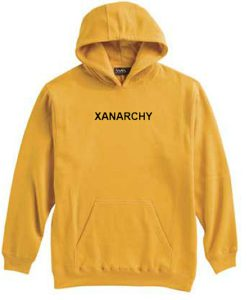 Xanarchy Yellow Hoodie