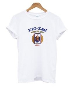 zig zag france cigarettes t-shirt