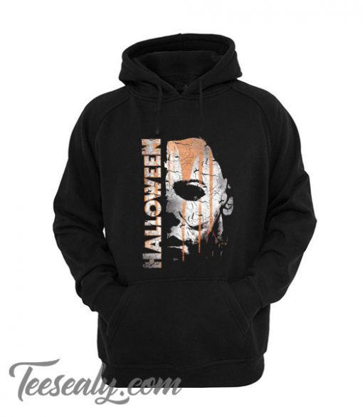 New Cute Halloween Michael Myers Mask And Drips Stylish Hoodie