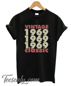 1969 – 2019 50 Years Perfect Stylish T-Shirt