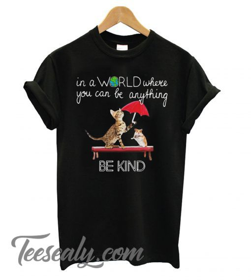 In a World where you can be Anything Stylish T shirt