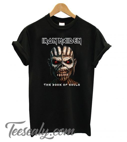 Iron Maiden the Book Of Souls Stylish T shirt