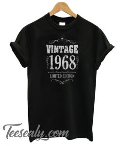 Vintage 1968 funny 50th birthday Men's Stylish T-Shirt