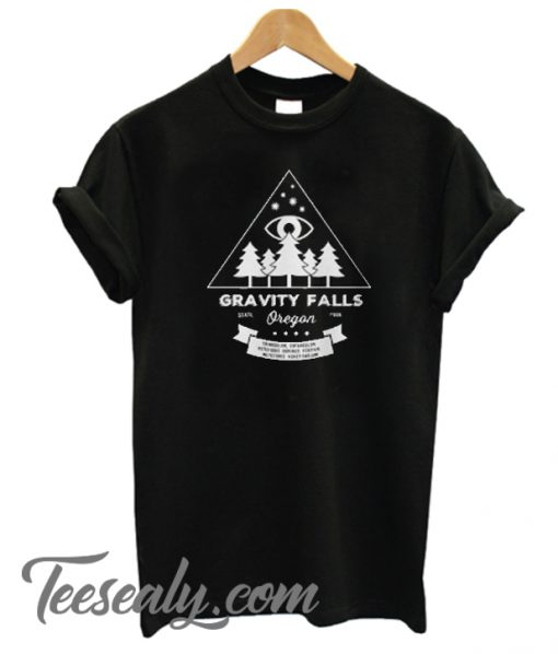 Visit Gravity Falls, Oregon Stylish T-Shirt