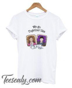 We Go Together Like PB And J Stylish T-Shirt Women White