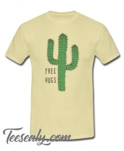 Cactus Free Hugs Stylish T Shirt