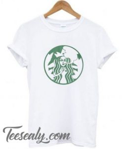 Cannabis Coffee Smoke Weed Parody Stylish t shirt