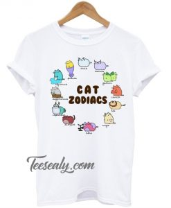 Cat Zodiacs Stylish T-Shirt