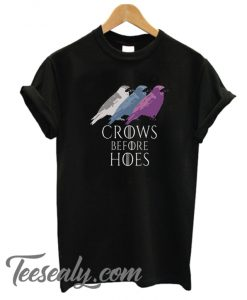 Crows Before Hoes Stylish T Shirt