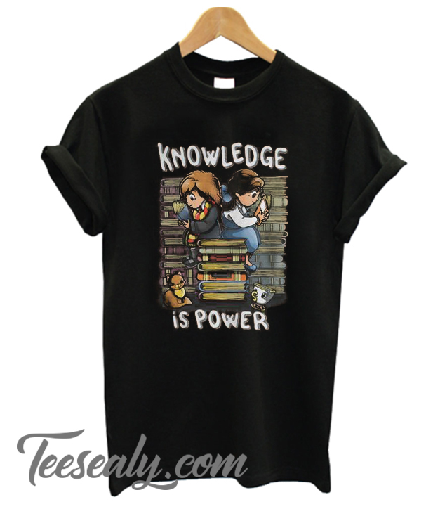 Knowledge Is Power Stylish T SHirt