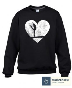 Acrobatics Heart Stylish Sweatshirt