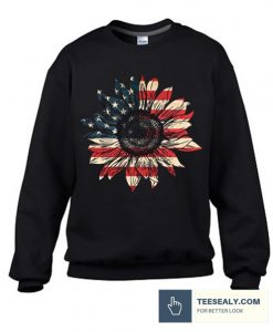 America sunflower Stylish Sweatshirt