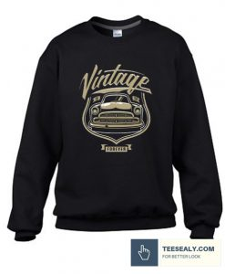 Vintage Car Stylish Sweatshirt