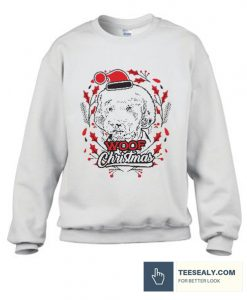 Woof Christmas Stylish Sweatshirt