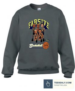 ab Five Michigan Retro Caricature Stylish Sweatshirt