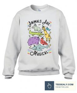 ANIMALS ARE MAGICAL stylish Sweatshirt