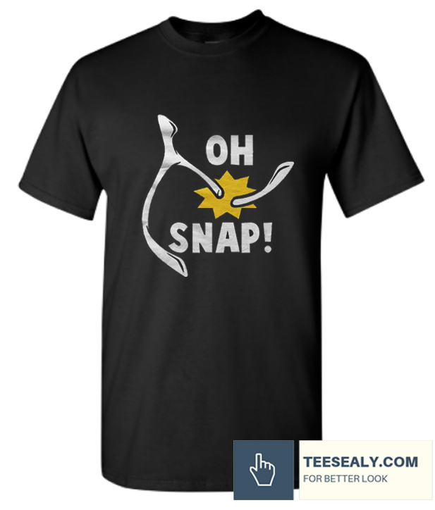 Oh Snap Thanks giving Stylish T-Shirt
