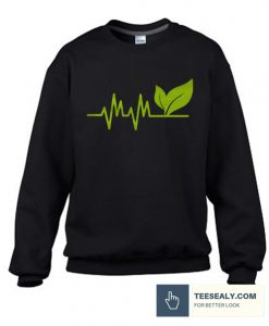 Vegan Heartbeat Stylish Sweatshirt