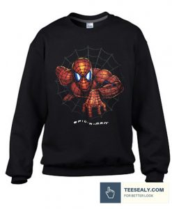 Vintage spiderman graphic Stylish Sweatshirt