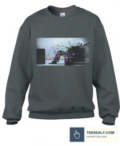 WEIR BLOWN AWAY stylish Sweatshirt