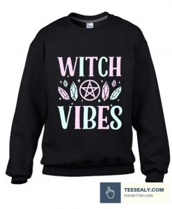 WITCH VIBES RACERBACK stylish Sweatshirt