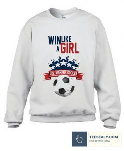 Womens Soccer Stylish Sweatshirt