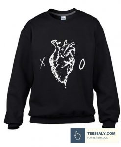 XO Heart Logo stylish Sweatshirt