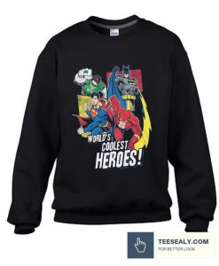 ustice League Coolest Heroes stylish Sweatshirt