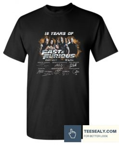 18 Years of Fast and Furious 2001 2019 Stylish T Shirt