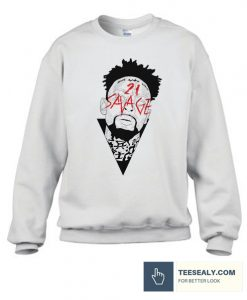 21 Savage Graphic Stylish Sweatshirt