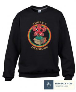 Adopt A Demodog Stylish Sweatshirt