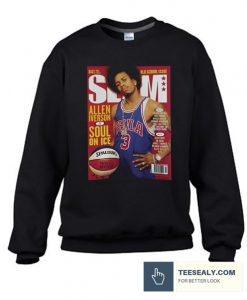 Allen Iverson SLAM Cover Stylish Sweatshirt