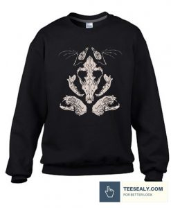 Animal Skulls & Bones Stylish Sweatshirt