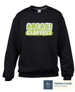 Area 51 Clapfest Clap Alien Cheeks Stylish Sweatshirt