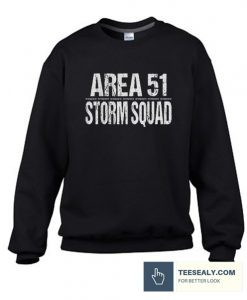 Area 51 Storm Squad Stylish Sweatshirt