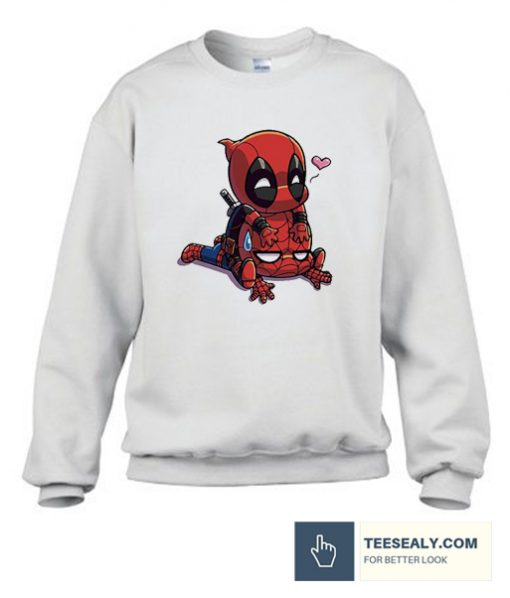 Dead Pool Spiderman Stylish Sweatshirt
