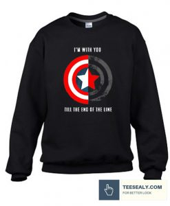 Till The End Of The Line Stylish Sweatshirt