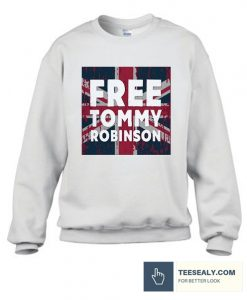 Tommy Robinson Stylish Sweatshirt