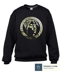 Tupac Logo Stylish SweatshirtTupac Logo Stylish Sweatshirt