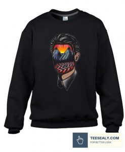 Twin Peaks Art Stylish Sweatshirt