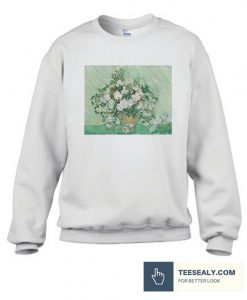 Vincent van Gogh Roses Stylish Sweatshirt