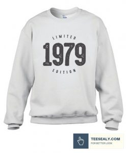 Vintage 1979 Limited Edition Stylish Sweatshirt