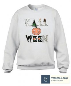 Vintage 90s Halloween Horror Night Stylish Sweatshirt