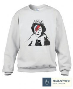 Ziggy Queen Elizabeth Stylish Sweatshirt